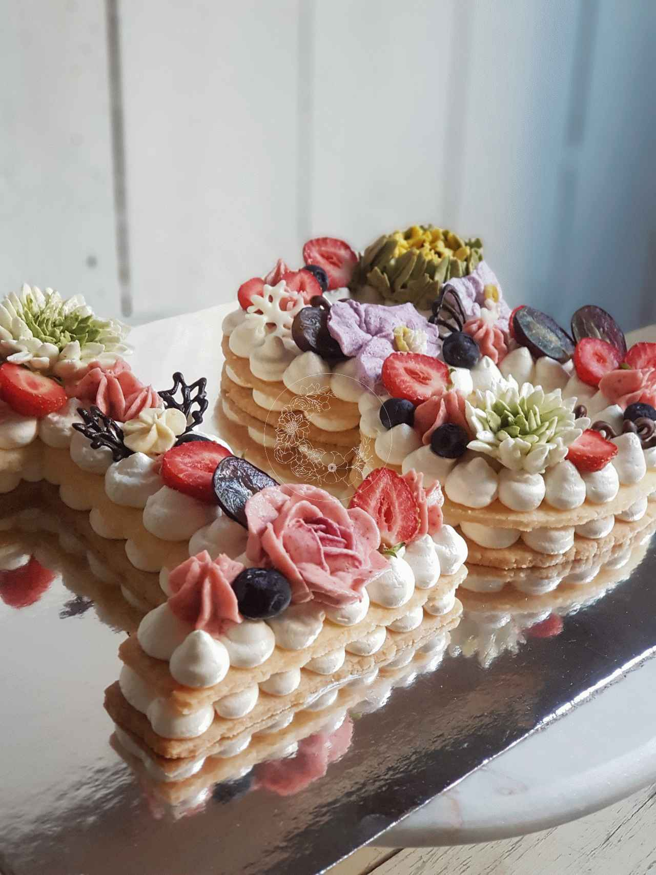 Fruit In Shape Of Cake