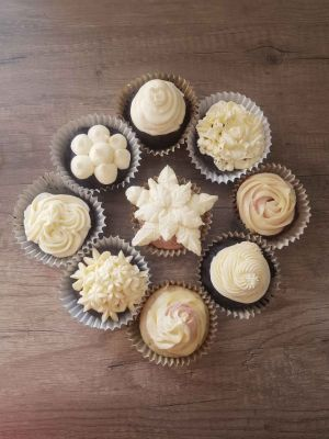 Indulgence Cupcakes with buttercream